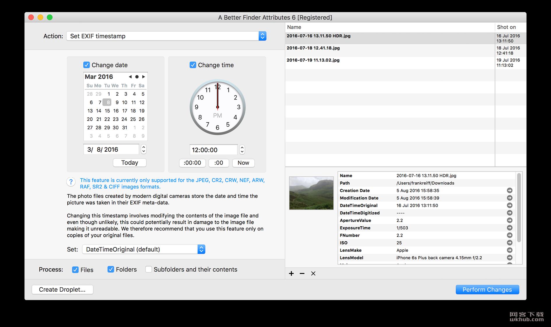 A Better Finder Attributes 6.13 强大的文件属性批量修改工具