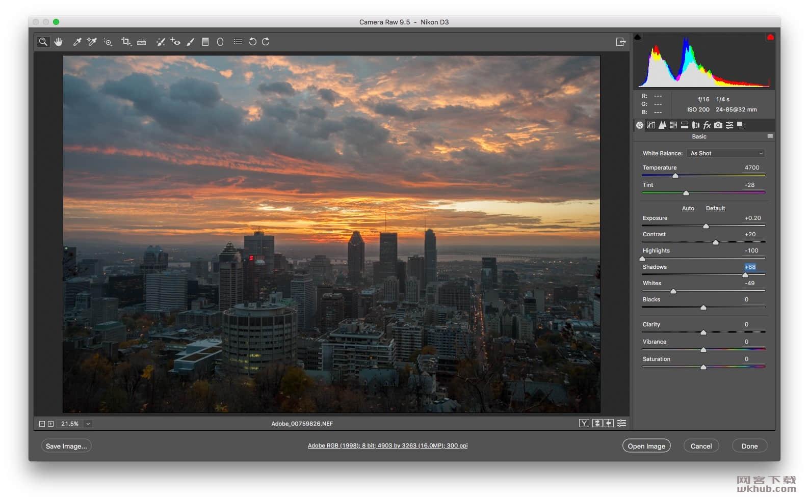 Adobe Camera Raw 11.3.0 功能强大的Photoshop增效插件