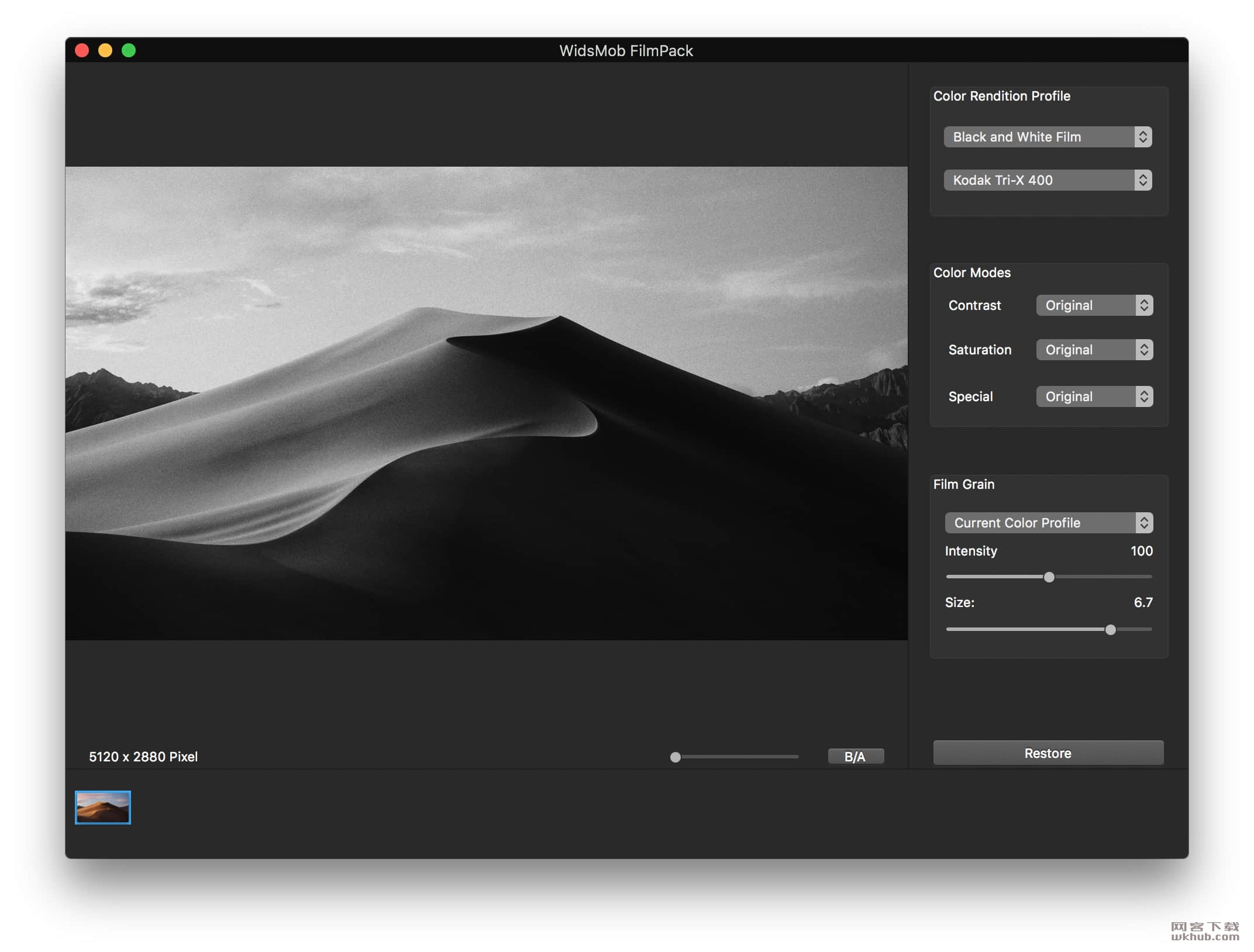 WidsMob FilmPack 2.4 易用的老照片复古滤镜工具