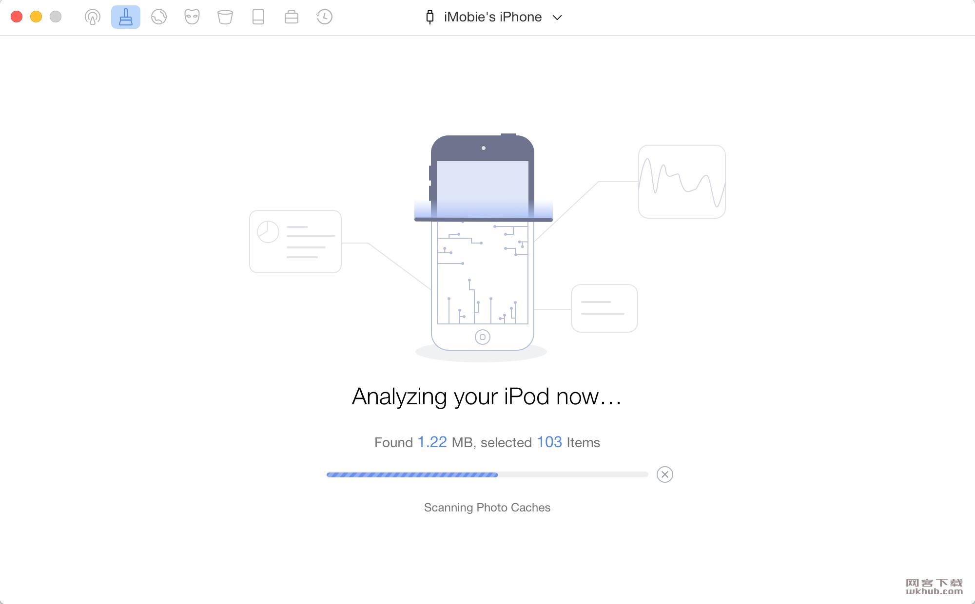 PhoneClean Pro 5.3.1(20190408) 强大的iOS设备清理和优化工具