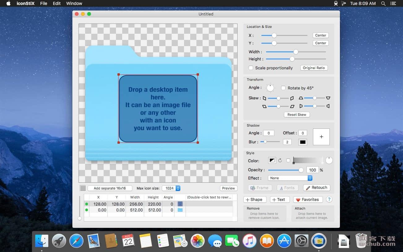 iconStiX 3.8.1 文件夹图标制作设置工具
