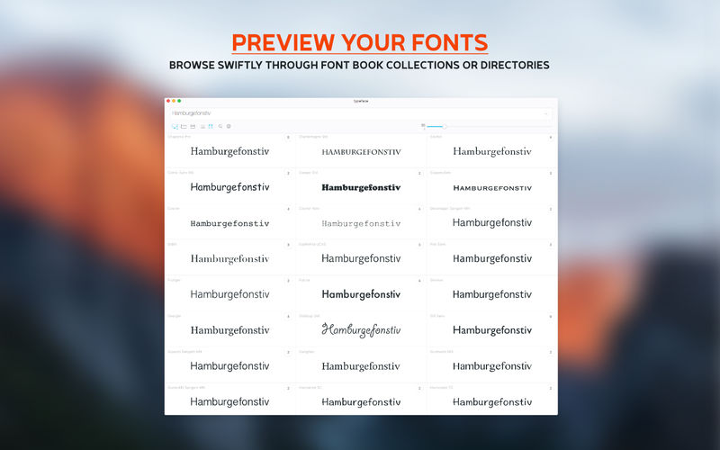 Typeface 2.6.1 漂亮的字体管理器