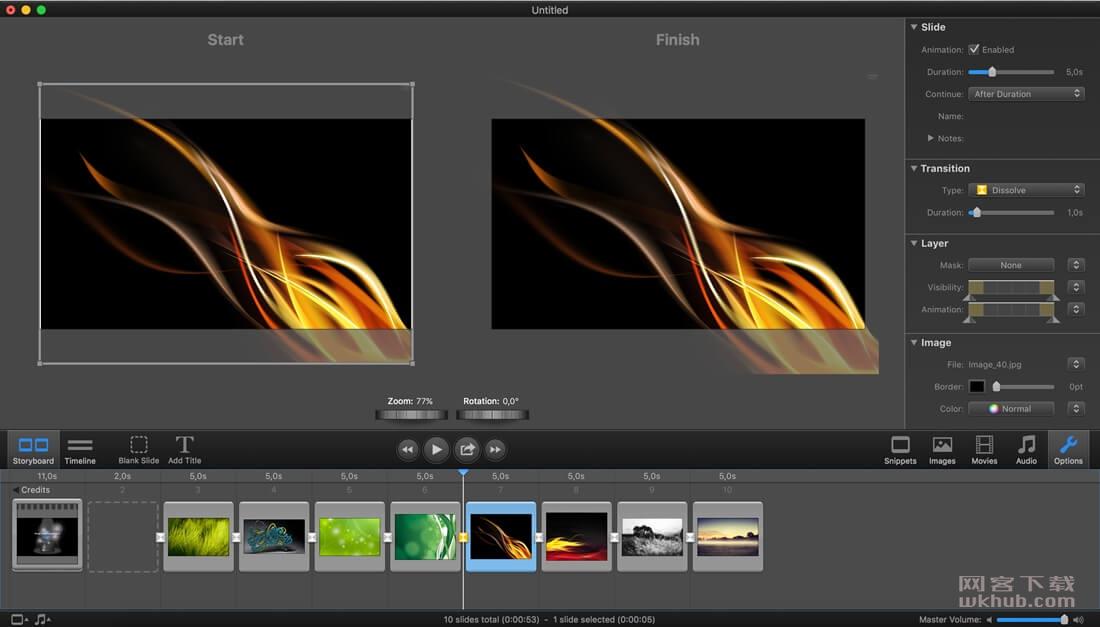 FotoMagico Pro 5.6.3 优秀的幻灯片制作工具