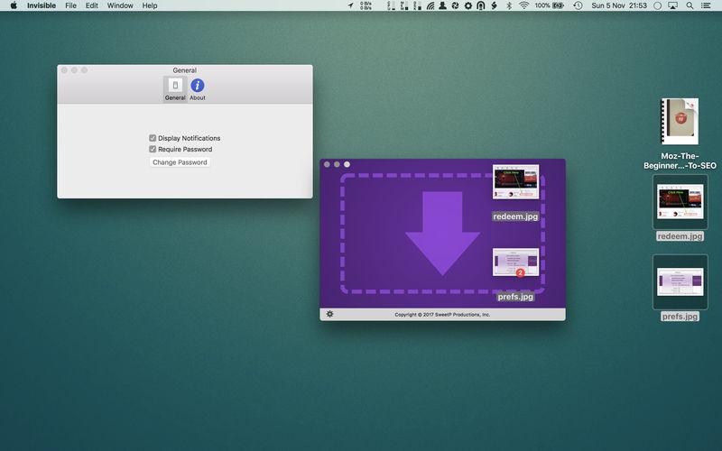Invisible 2.4.2 易用的文件快速隐藏工具