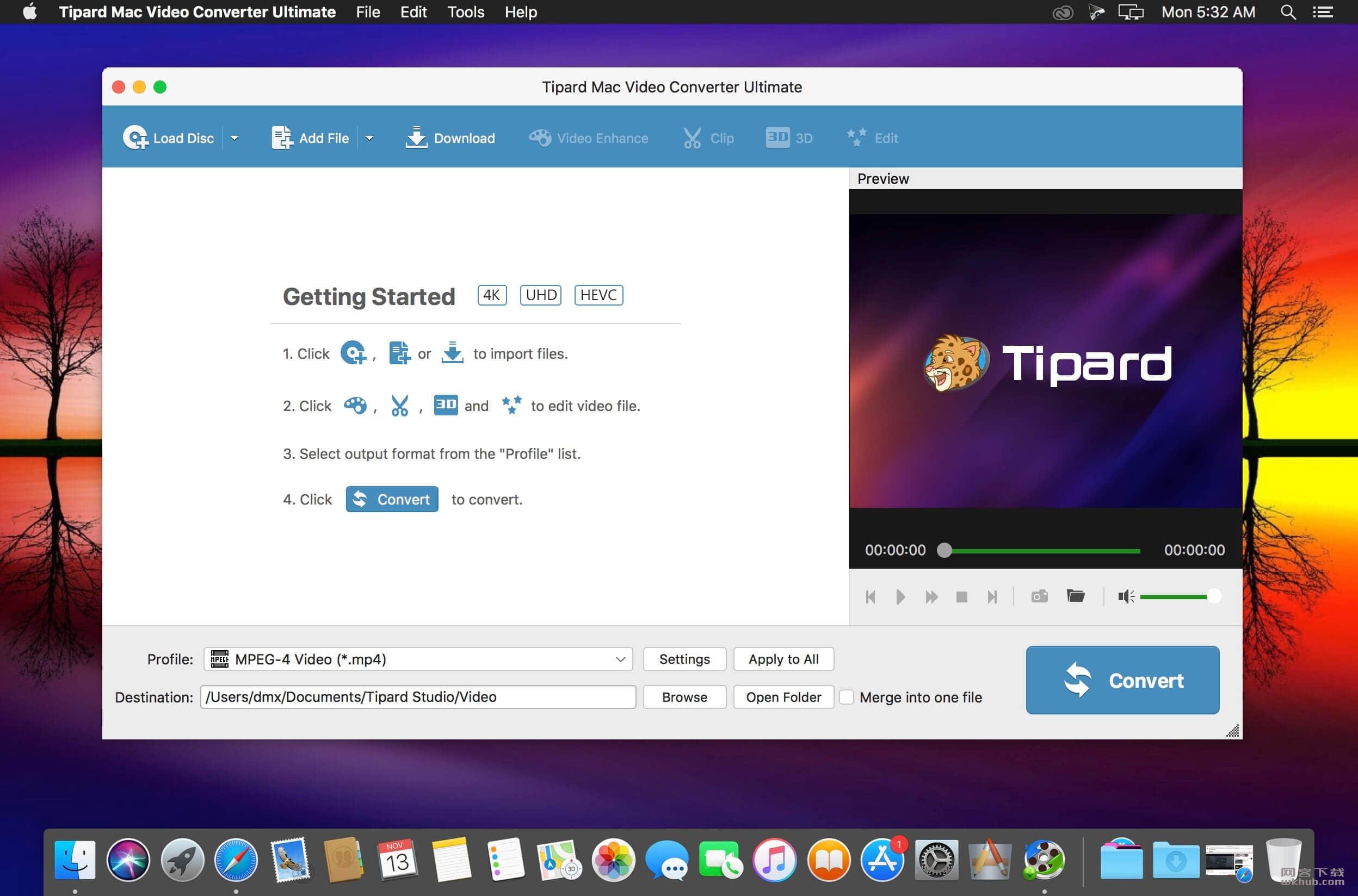 Tipard Mac Video Converter Ultimate 9.2.22 视频转换工具