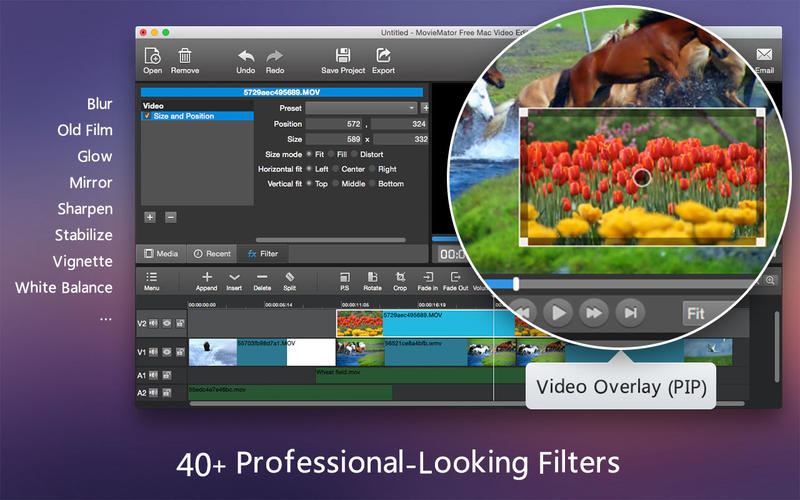 Video Editor MovieMator Pro 2.4.7 优秀的视频编辑工具