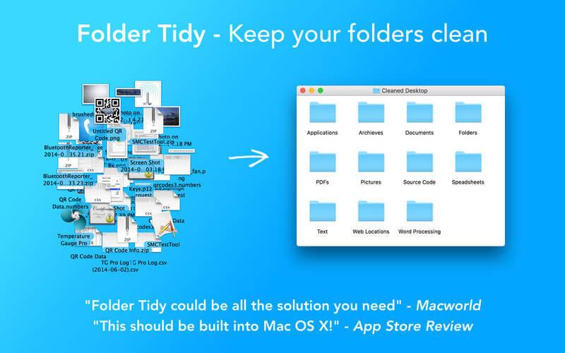 Folder Tidy 2.7.2 优秀的文件夹整理工具