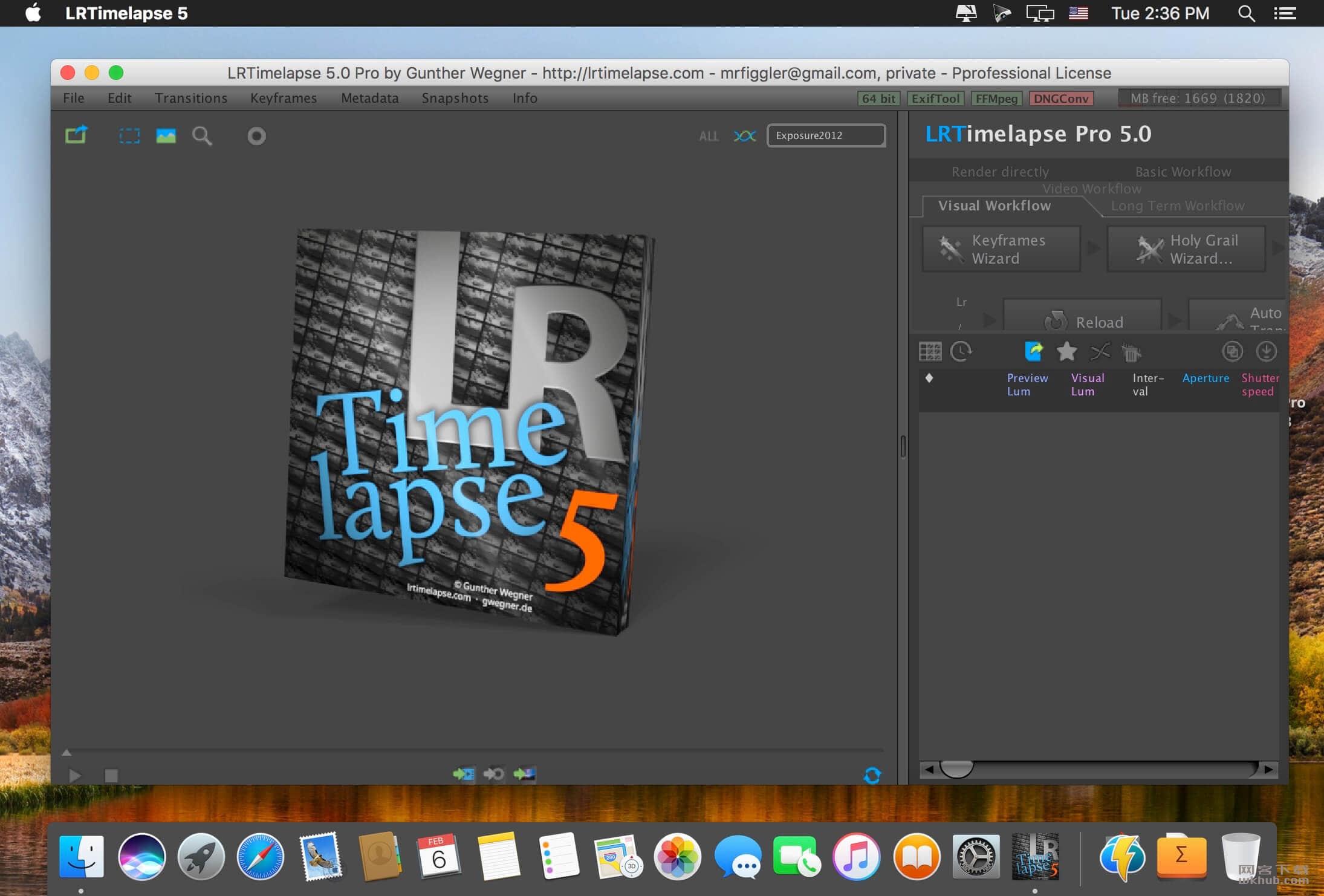 LRTimelapse Pro 5.2 专业的延迟摄影渲染工具