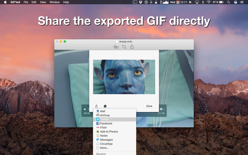 GIF'ted 1.1.3 视频转GIF工具