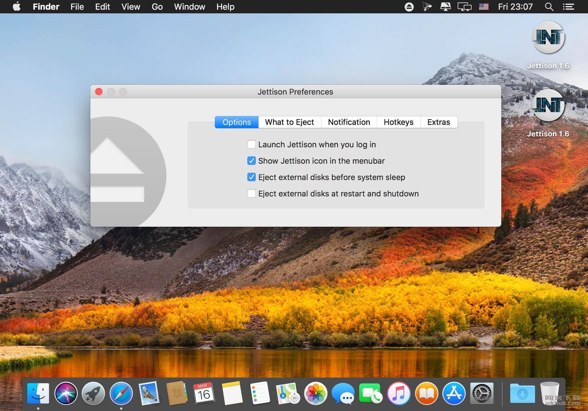 Jettison 1.7.2 外部磁盘实用工具