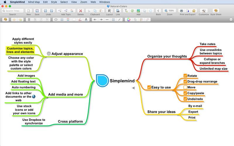 SimpleMind Pro 1.24.0 简单易用的思维导图工具