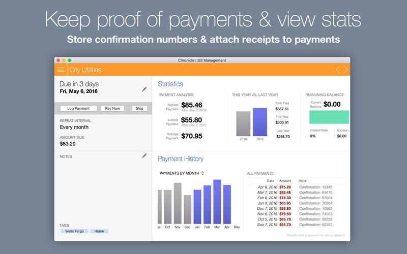 Chronicle Pro 9.6.1 优秀的财务管理工具