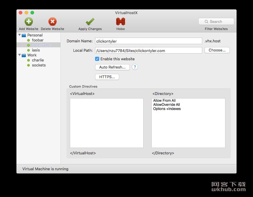 VirtualHostX 8.7.4 虚拟主机开发环境创建工具