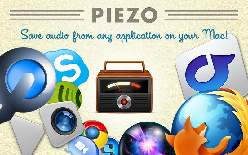 Piezo 1.5.12 优秀的录音软件