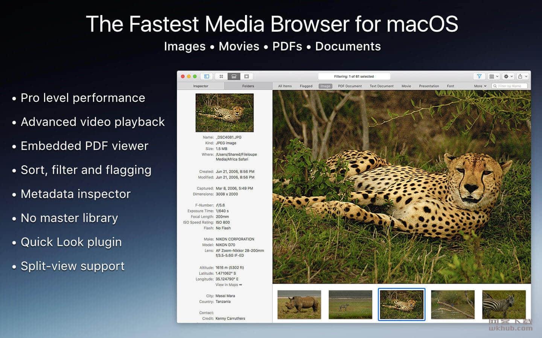 Fileloupe 1.7.1 强大的文件预览工具