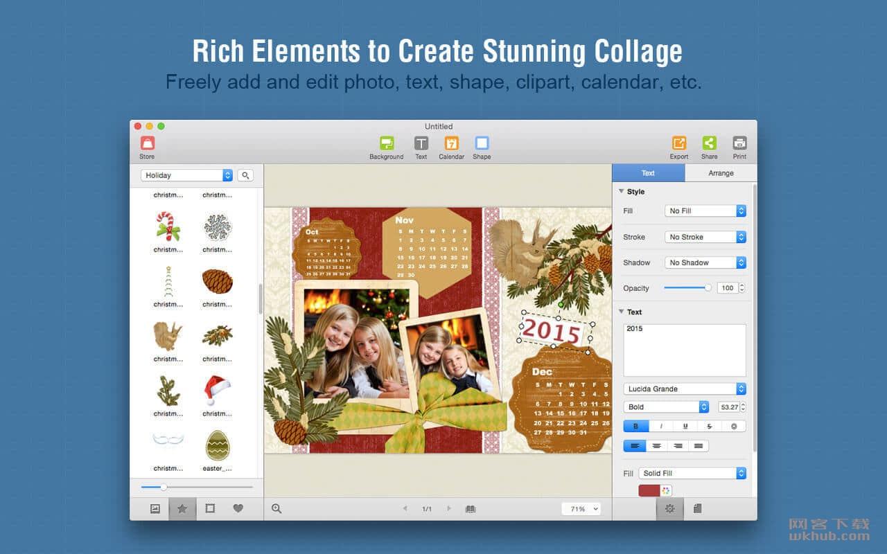 Picture Collage Maker 3.7.3 强大易用的照片拼贴创建工具