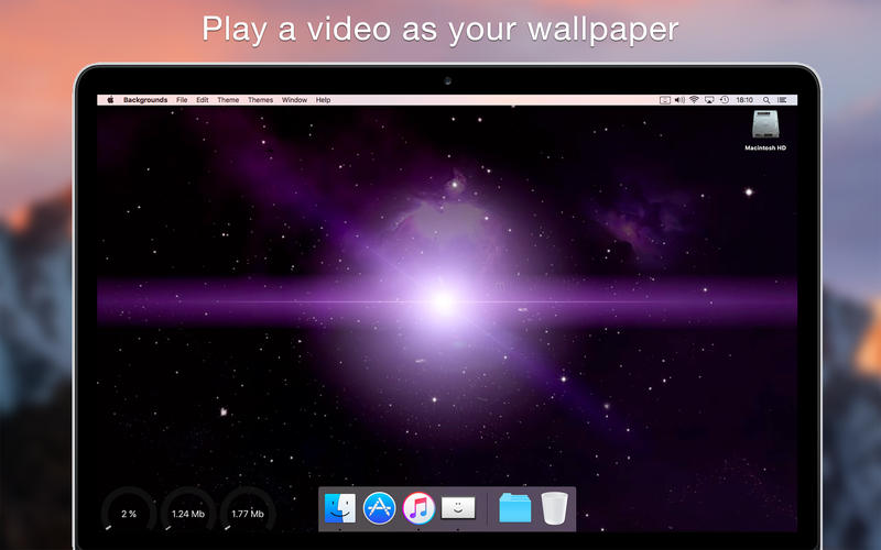 Backgrounds 6.2.1 桌面增强和美化工具