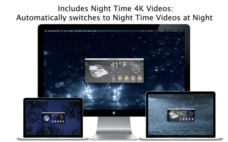 Motion Weather 4K 1.1.2 动态视频壁纸天气