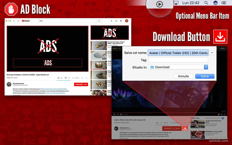 SopoTube for YouTube + AdBlock 1.0 油管视频观看下载工具