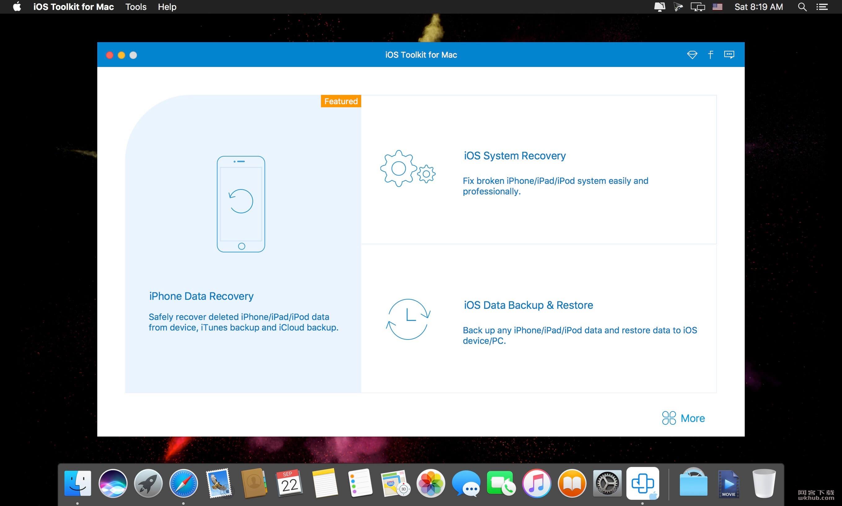 AnyMP4 iOS Toolkit 9.0.16.90764 强大的iOS设备数据恢复工具