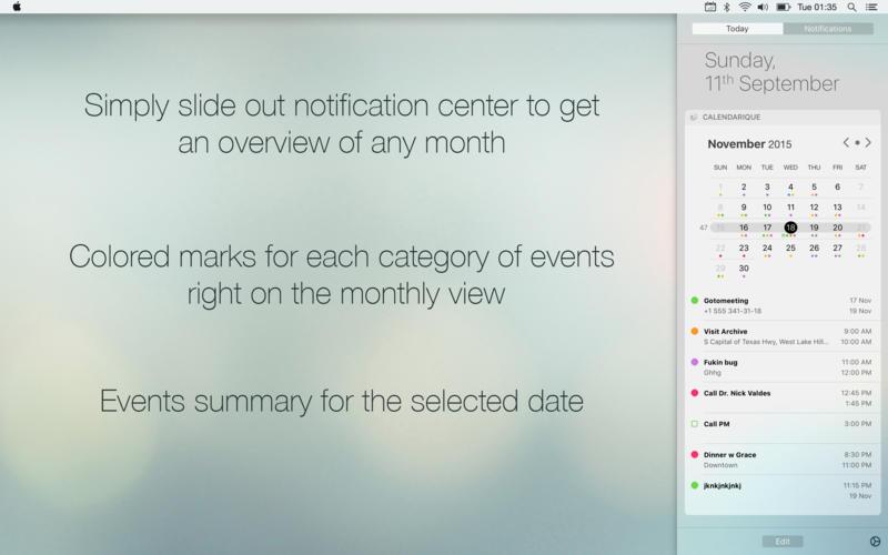 Calendarique 4.0 优秀的日历应用
