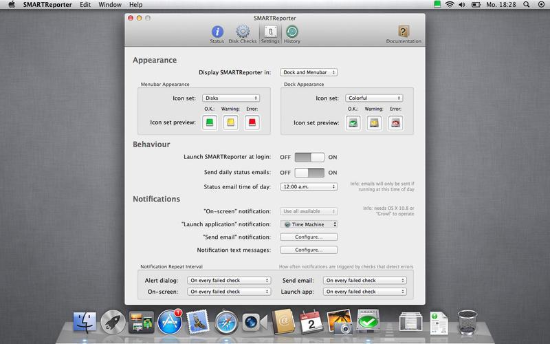 SMARTReporter 3.1.17 硬盘驱动器故障报警工具