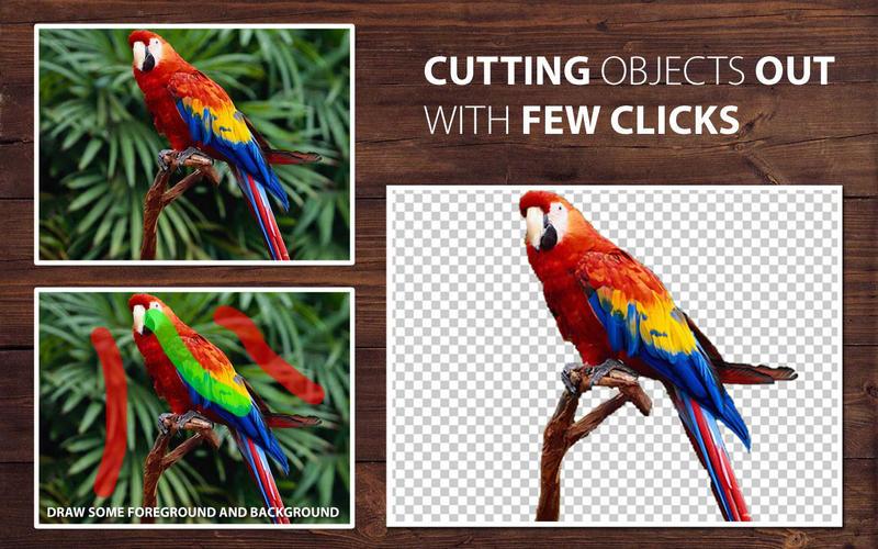 PhotoScissors 6.0 智能抠图工具