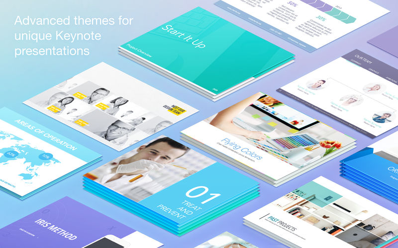 Layouts Lab Templates 3.3 Keynote模板集合