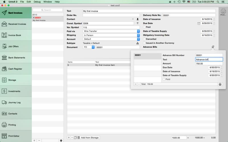 UctoX 2.6.5 财务管理软件