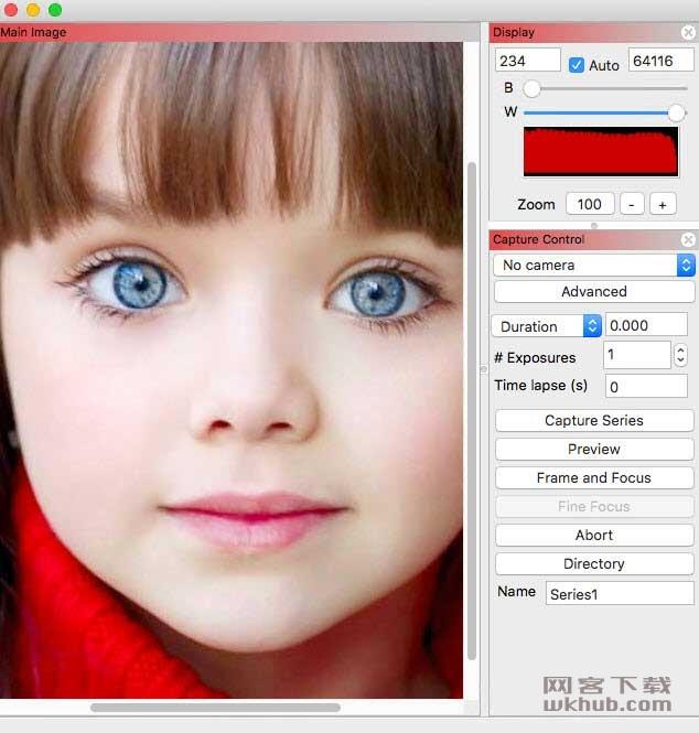 Nebulosity 4.3 强大易用的图片捕获和处理工具