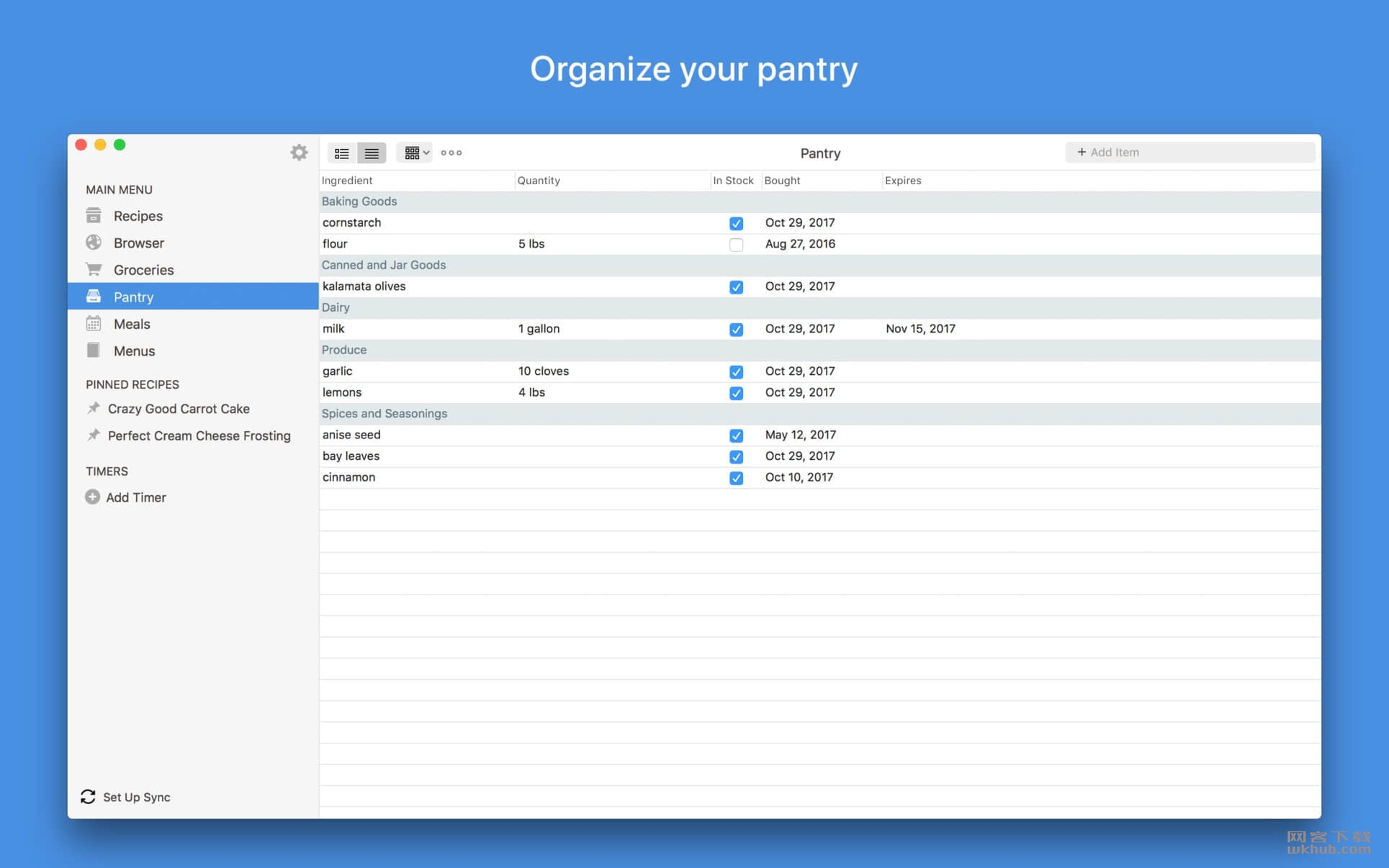 Paprika Recipe Manager 3.2.1 优秀的菜谱软件