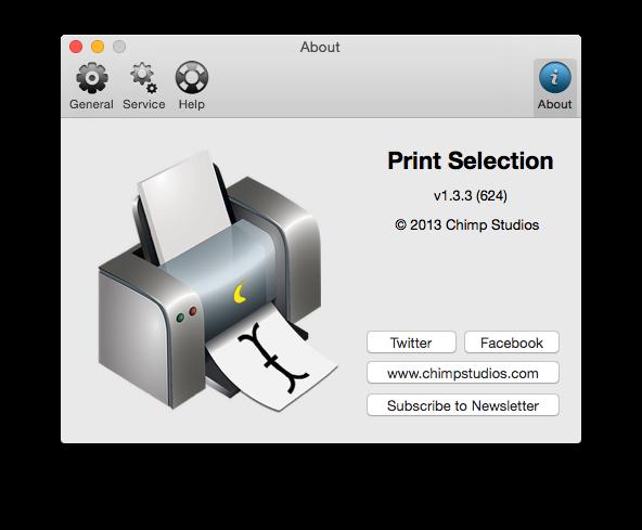 Print Selection 1.3.3 快速打印设置工具