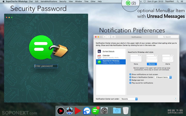 SopoChat For WhatsApp 3.3 好用的WhatsApp聊天客户端
