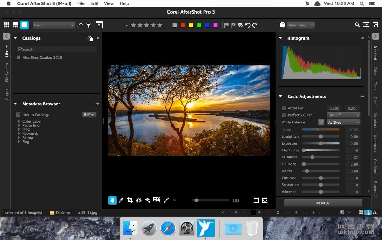 Corel AfterShot Pro 3.6.0.380 照片编辑工具