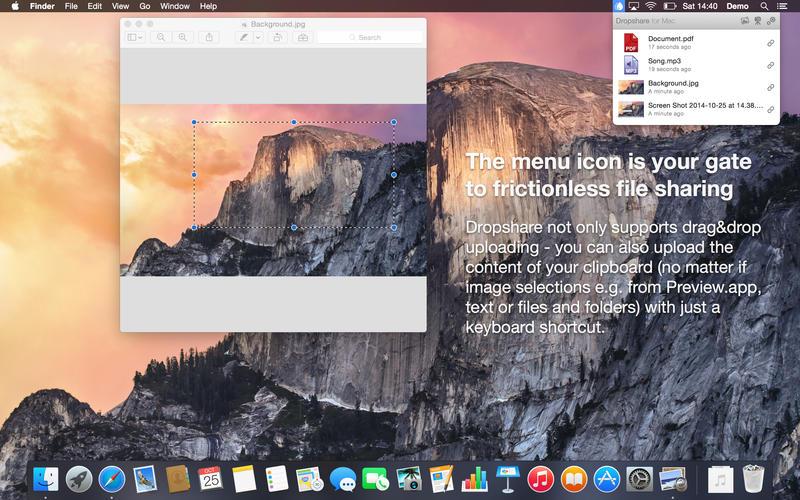Dropshare 5.1.5 轻量简单的文件共享软件