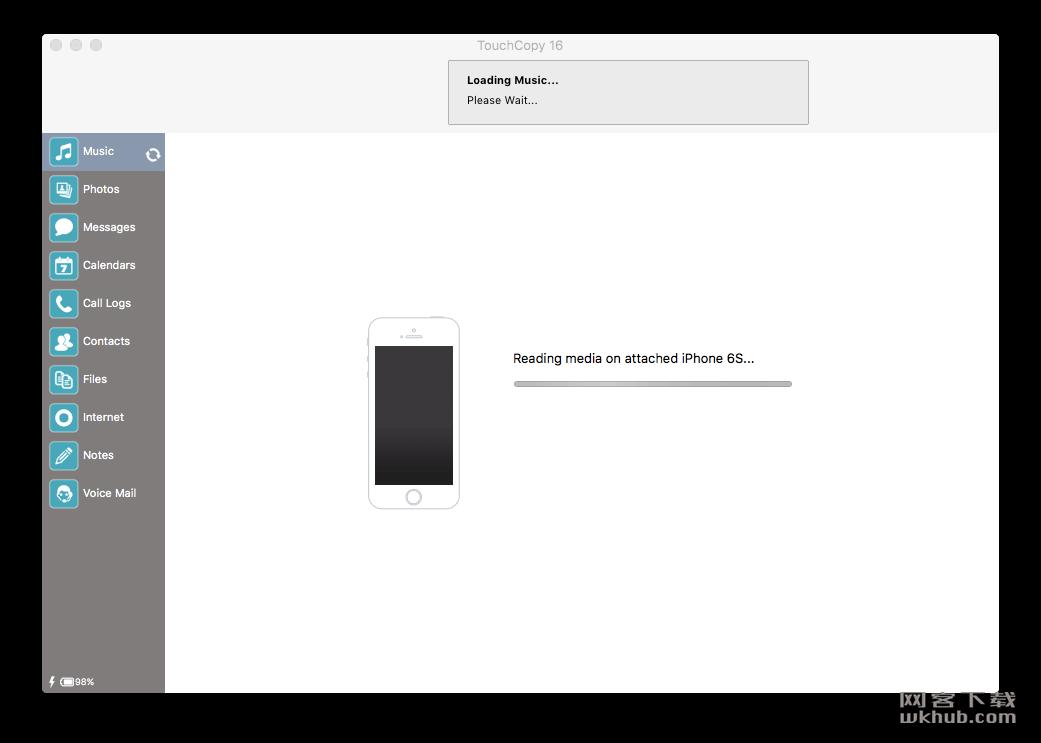 TouchCopy 16.33 iOS数据转移助手