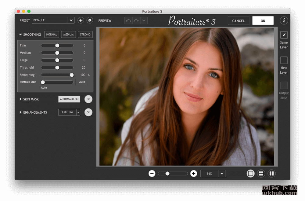 Imagenomic Portraiture 3.5 Build 3503 PS/LR磨皮滤镜插件