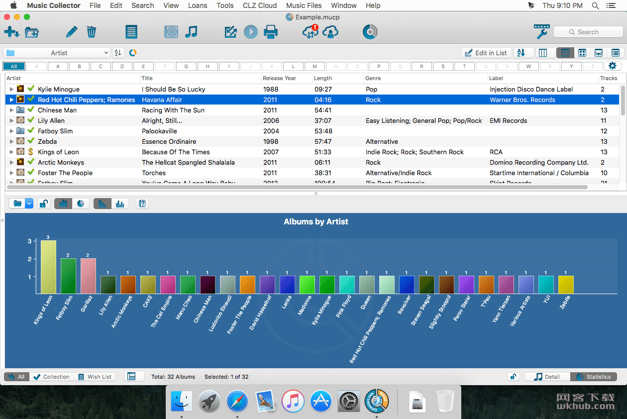 Music Collector Pro 19.0.3 音乐信息管理软件