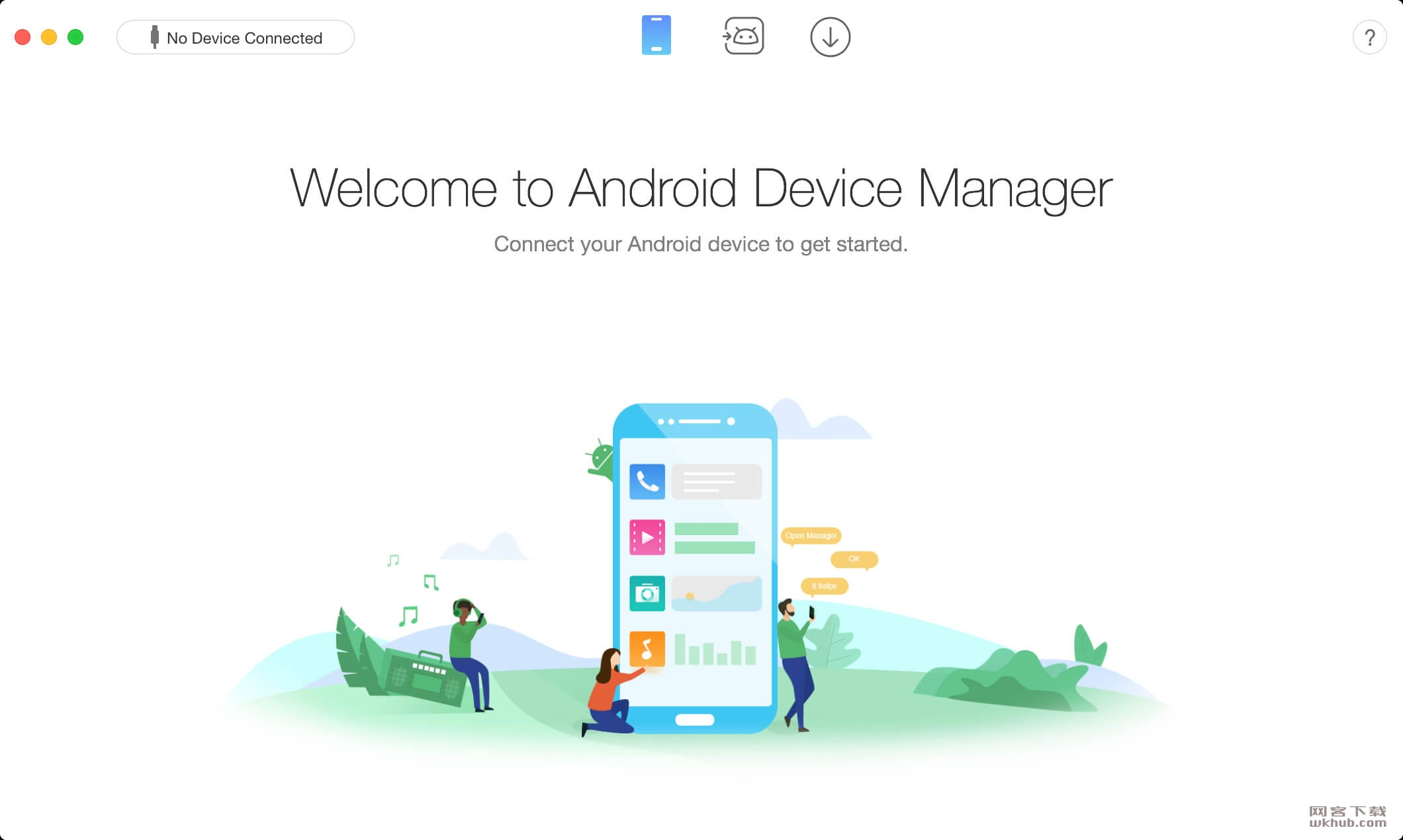 AnyTrans for Android 6.4.1.20181220 安卓手机数据传输工具