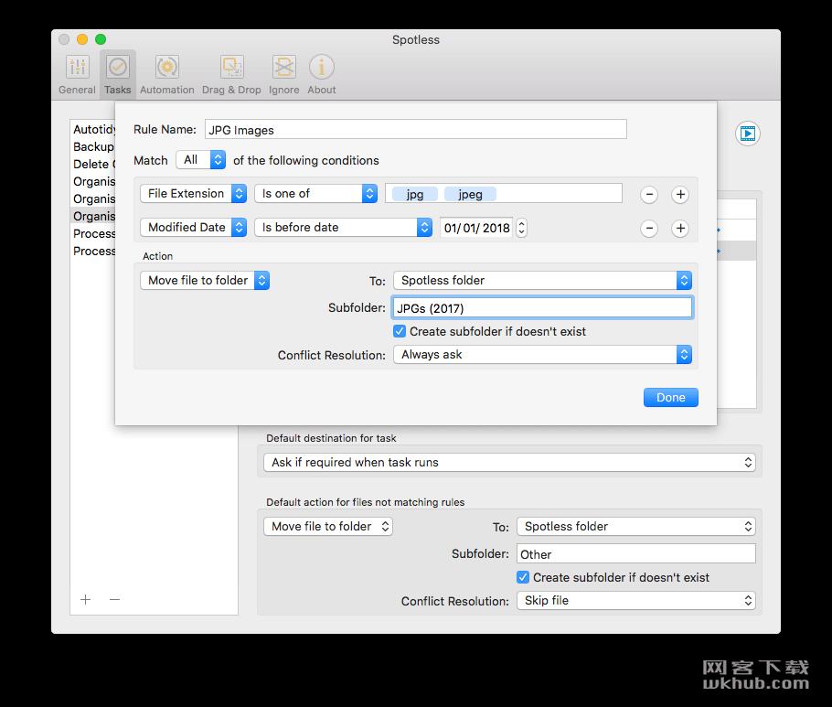 Spotless 1.1.2 优雅的文件整理工具