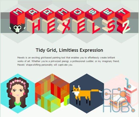 Hexels 3.1.5 网格像素化矢量绘画软件