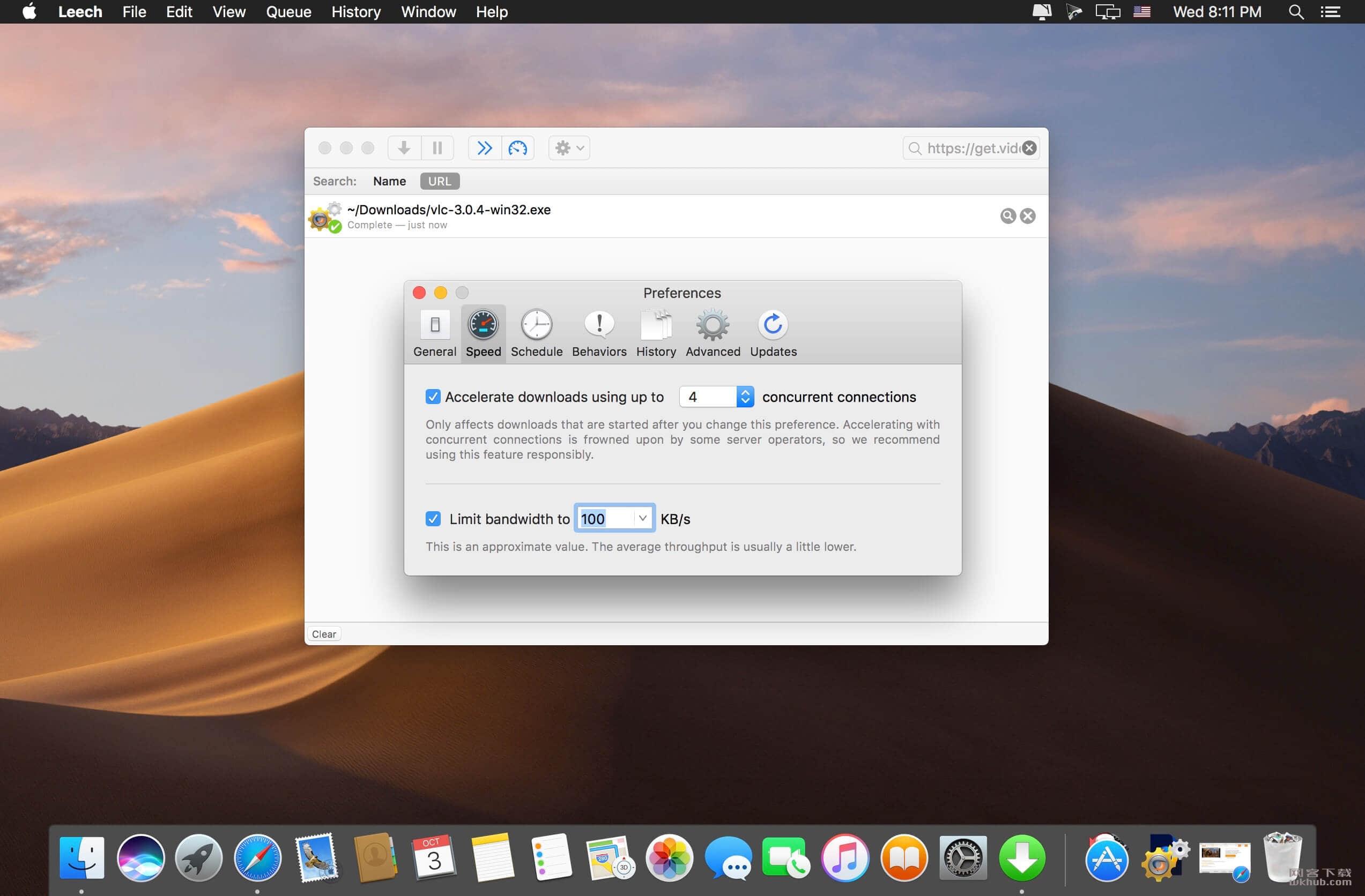 Leech 3.1.4 轻量级下载工具