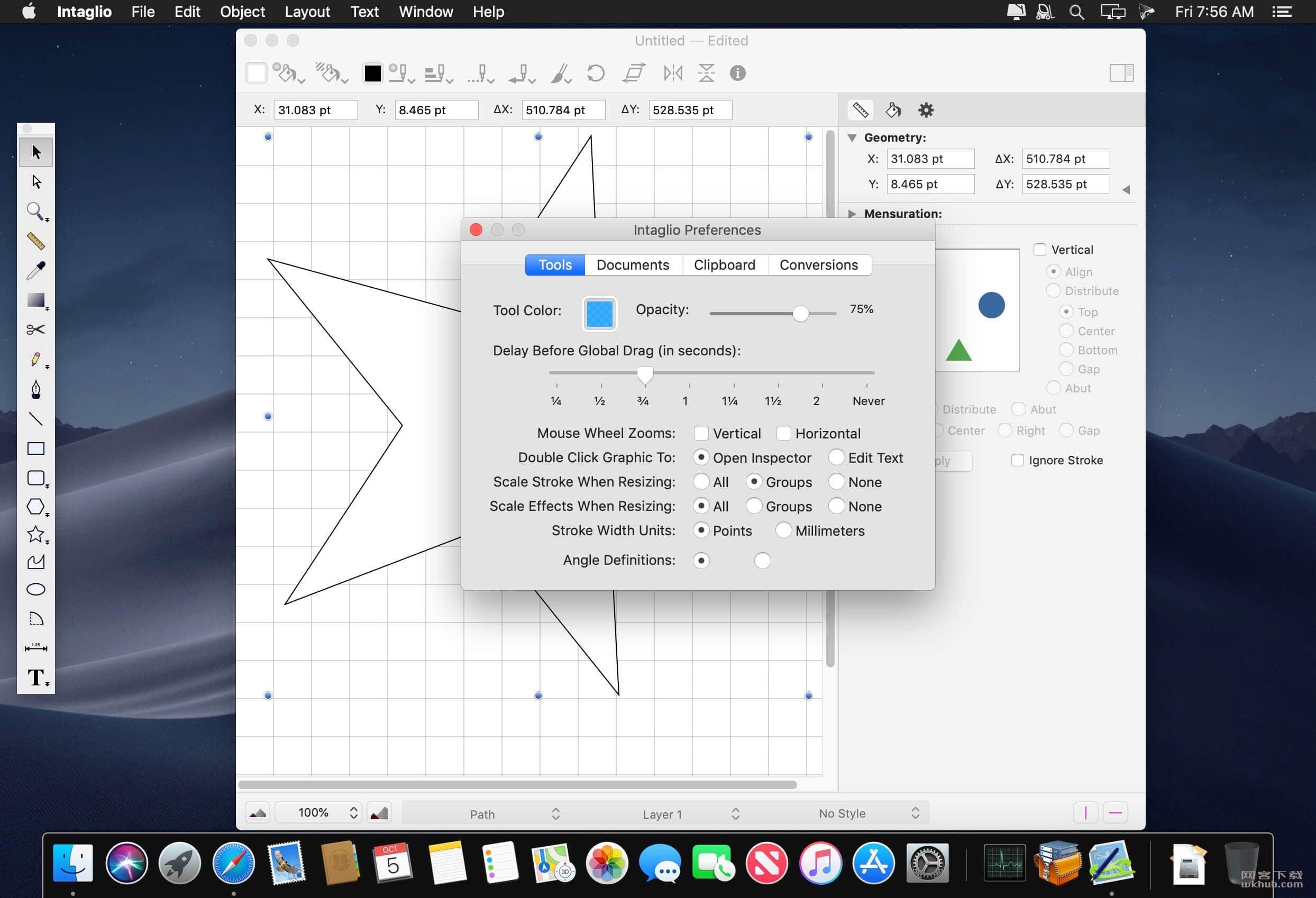 Intaglio 3.9.5 易用的绘图软件