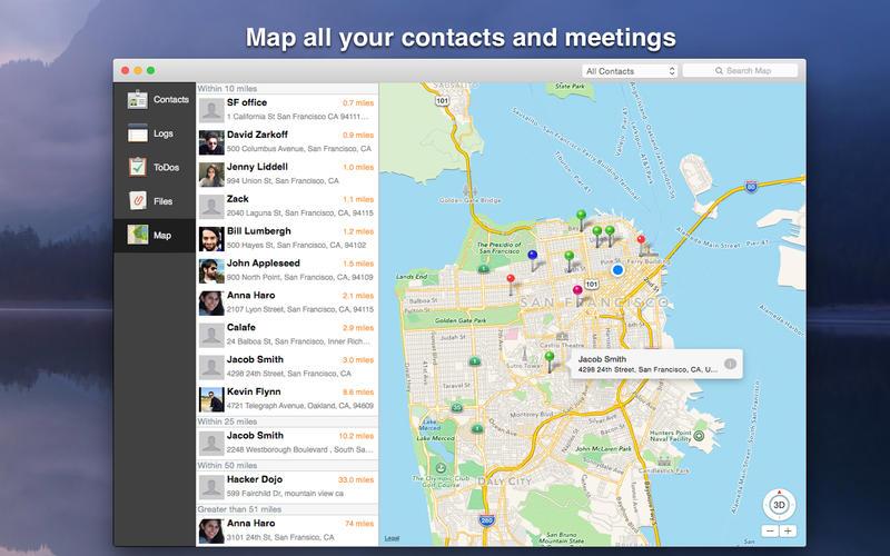 Contacts Journal CRM 1.7.2 强大的客户关系管理工具