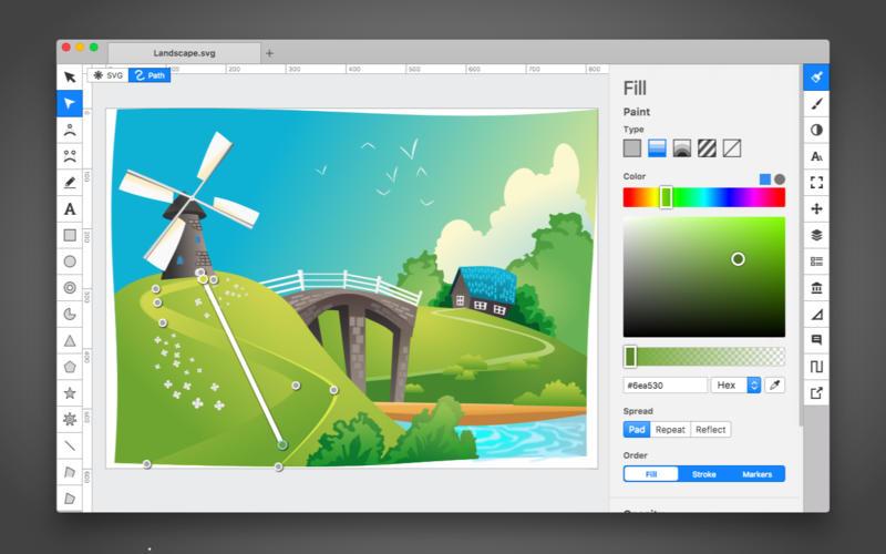 Boxy SVG 3.23.1 矢量图形编辑器