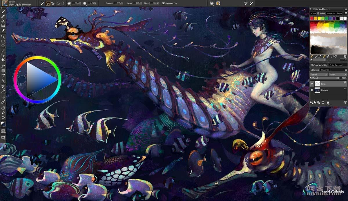 Corel Painter 2020 20.0.0.256 强大优秀的绘画软件