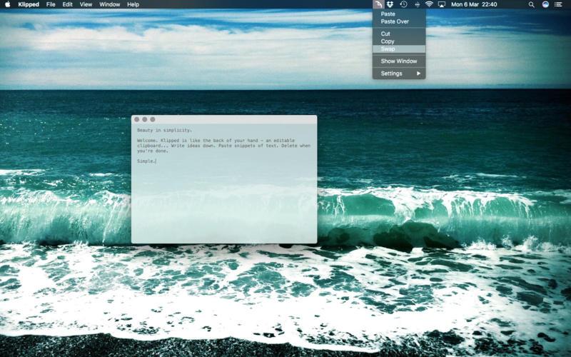 Klipped 1.10 轻巧简介的文本编辑器