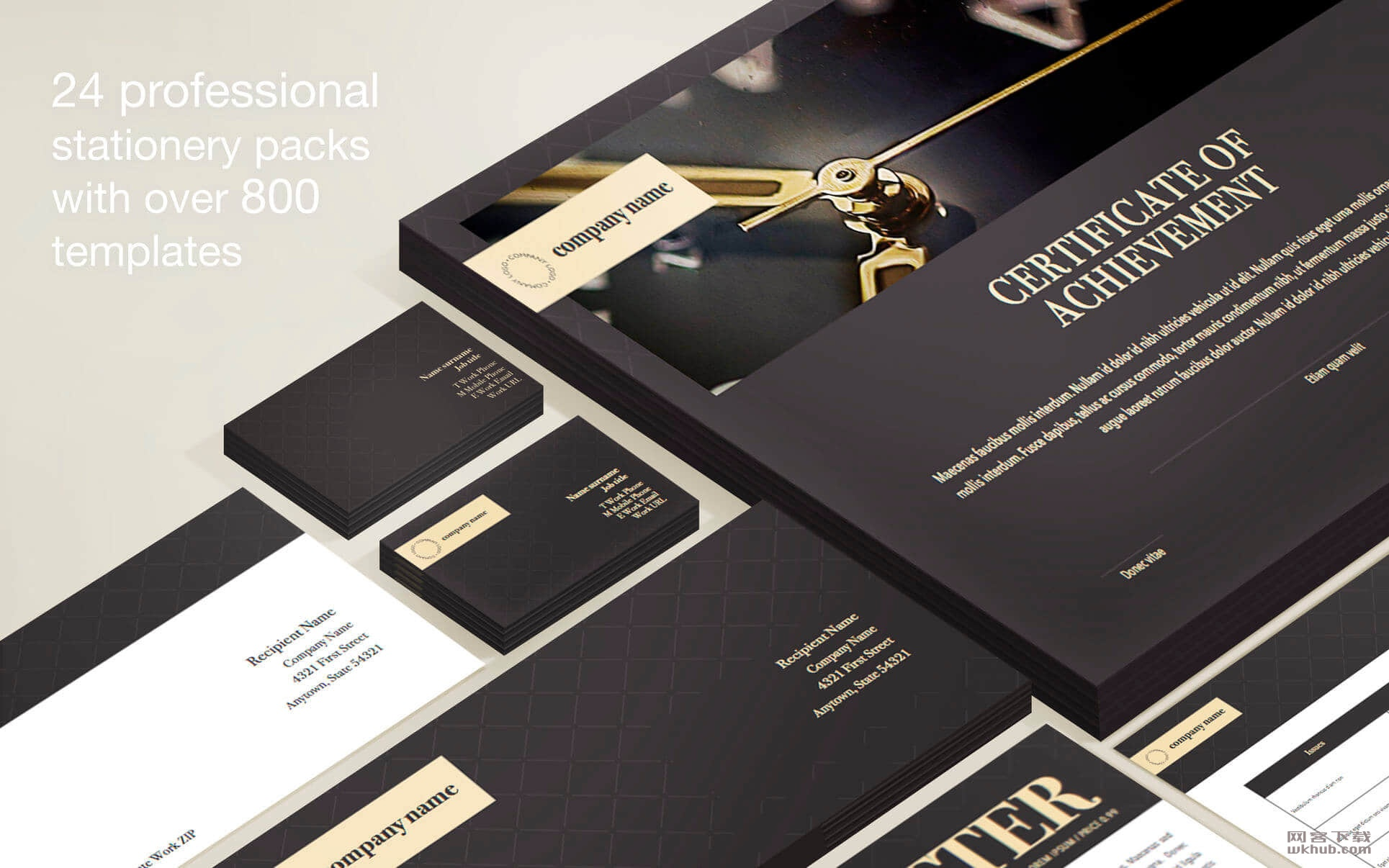 Branding Lab - Templates 3.3 Pages信纸模板