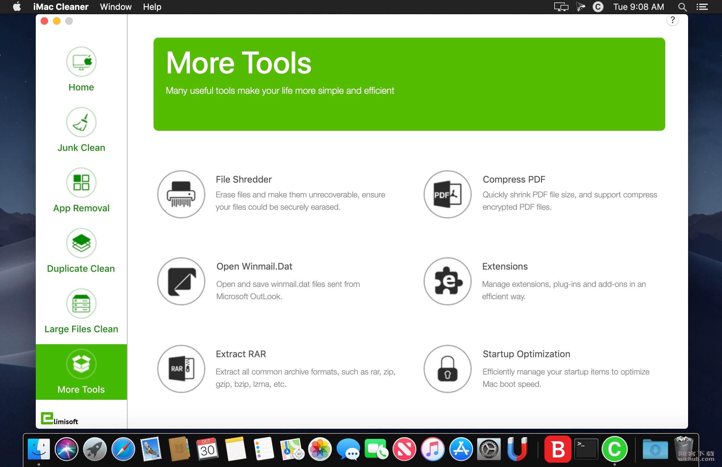 iMac Cleaner 2.9 系统清理工具