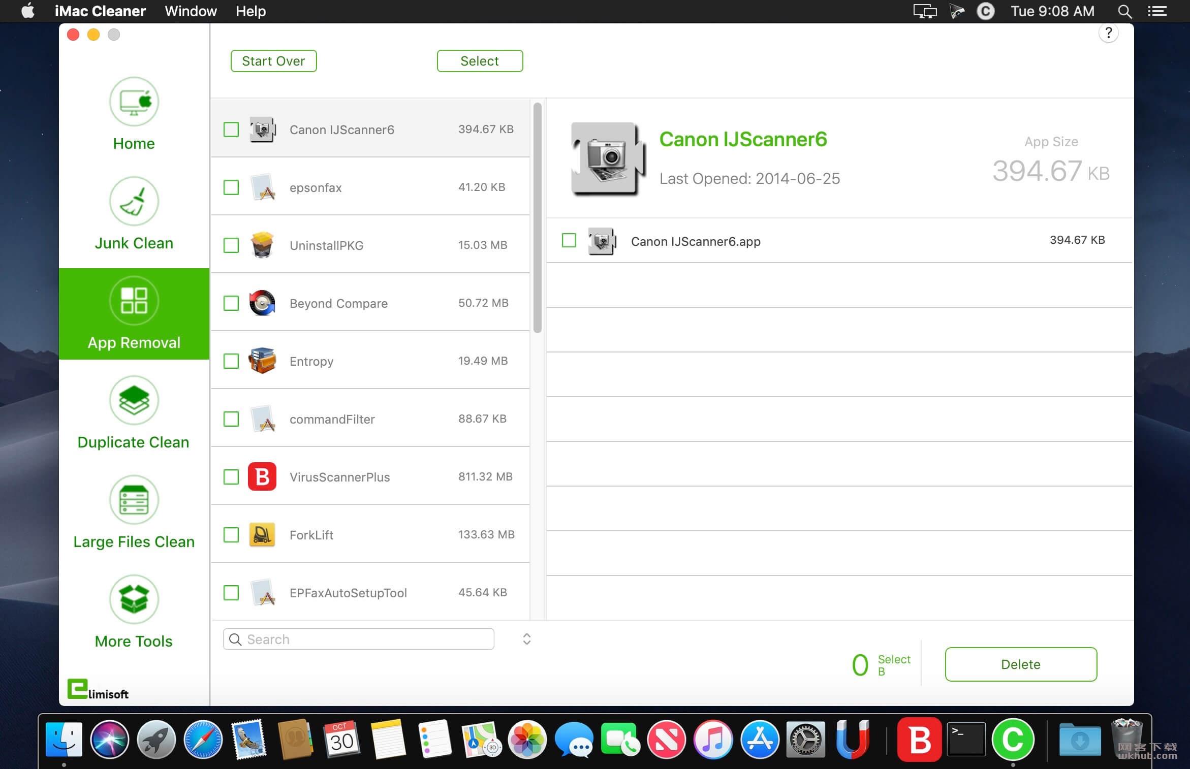 iMac Cleaner 2.2 系统清理工具